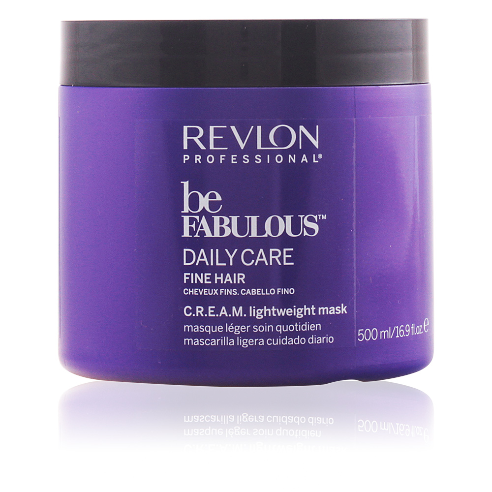 BE FABULOUS daily care fine hair cream mask