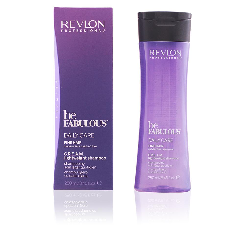 BE FABULOUS daily care fine hair cream shampoo