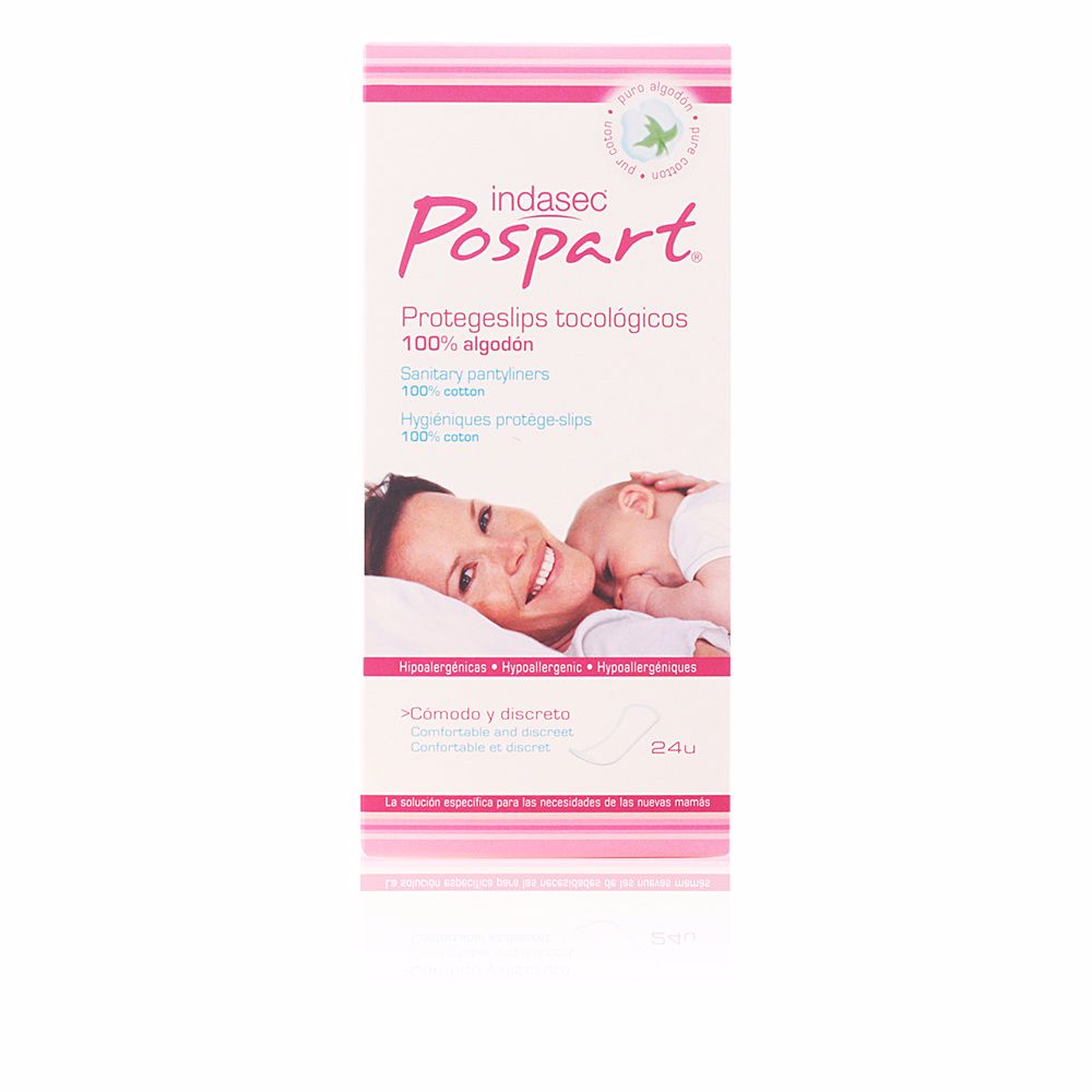POSPART sanitary pantyliners 100% cotton