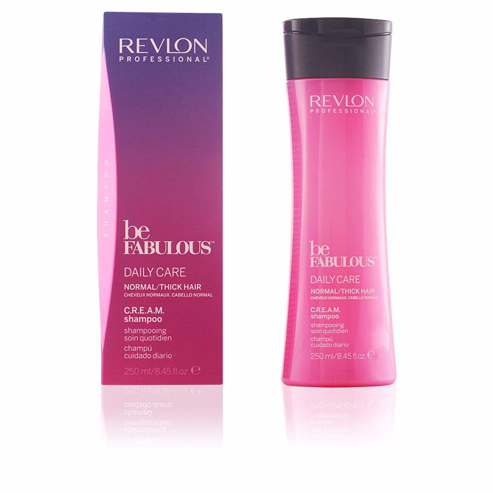 BE FABULOUS daily care normal cream shampoo