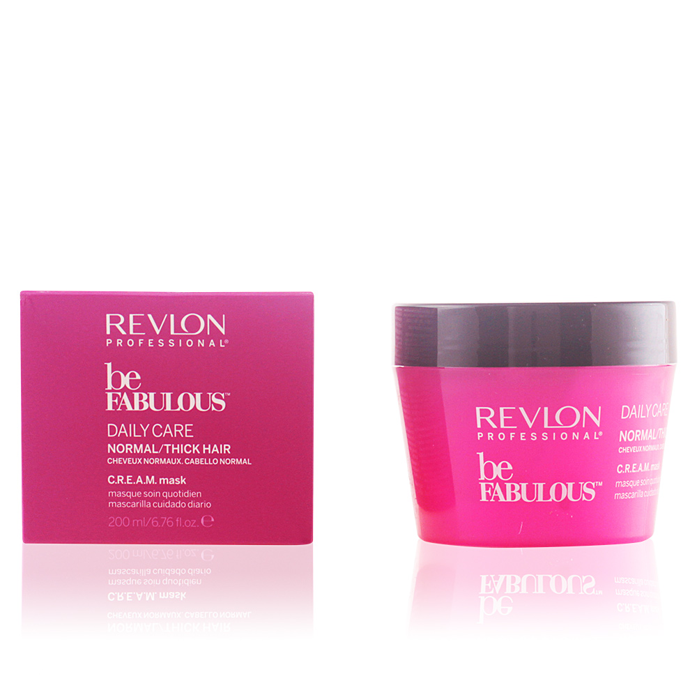 BE FABULOUS daily care normal cream mask