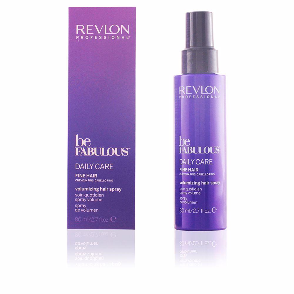 BE FABULOUS daily care fine hair volumen spray