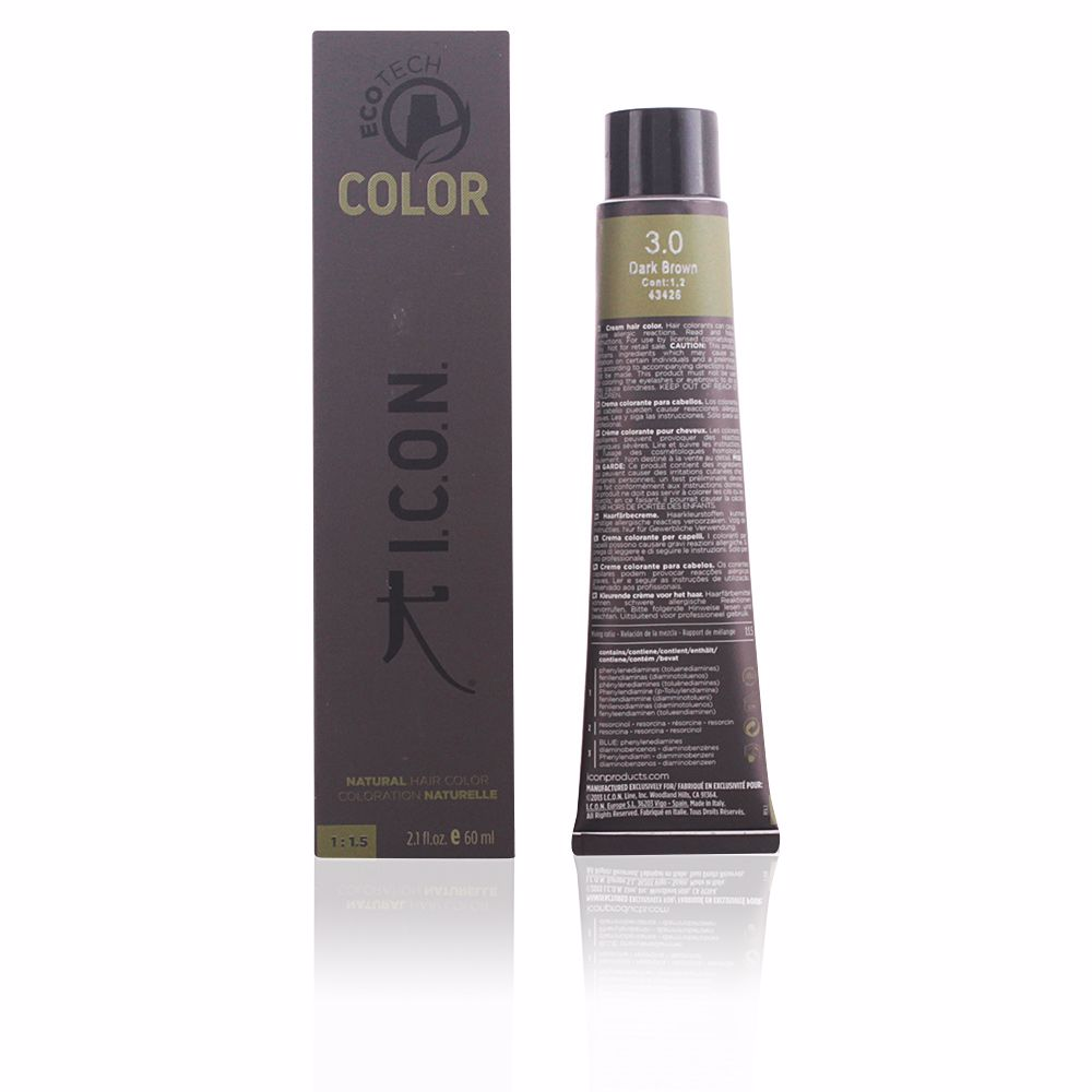 ECOTECH COLOR natural color #3.0 dark brown