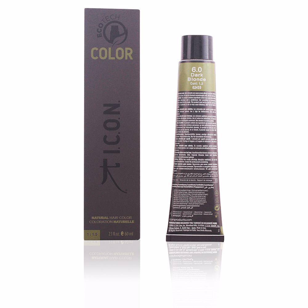 ECOTECH COLOR natural color #6.0 dark blonde