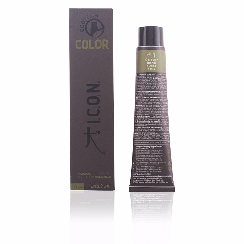 ECOTECH COLOR natural color #6.1 dark ash blonde