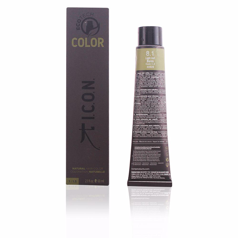 ECOTECH COLOR natural color #8.1 light ash blonde