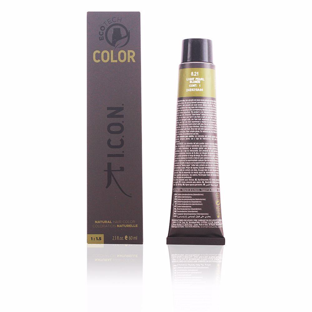 ECOTECH COLOR natural color #8.21 light pearl blonde