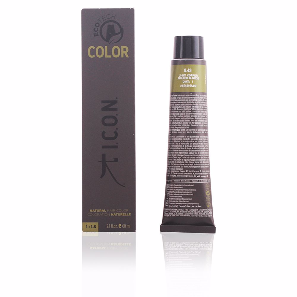 ECOTECH COLOR #8.43 light copper golden blonde