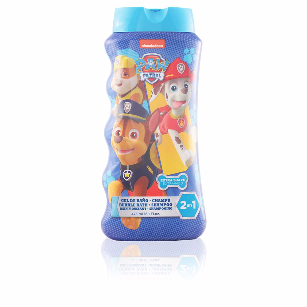 PAW PATROL bubble bath shampoo 2 in 1