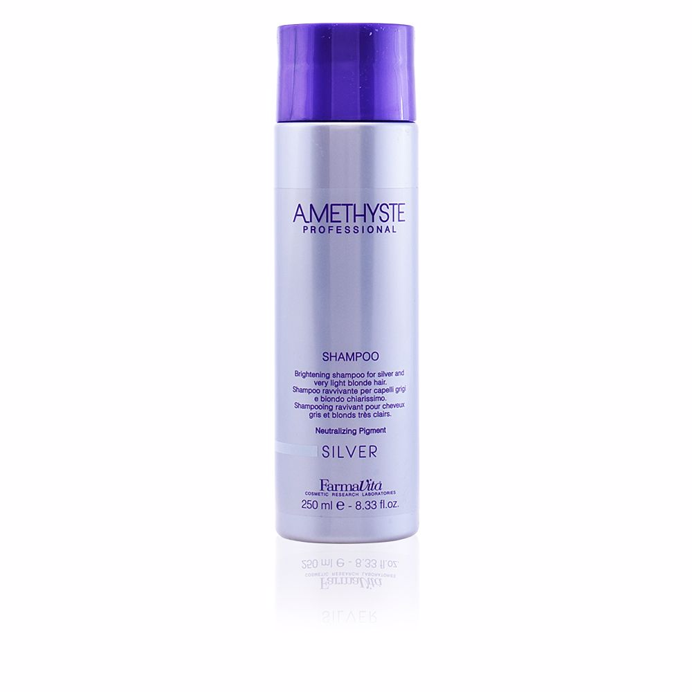 AMETHYSTE for silver and very light blonde hair
