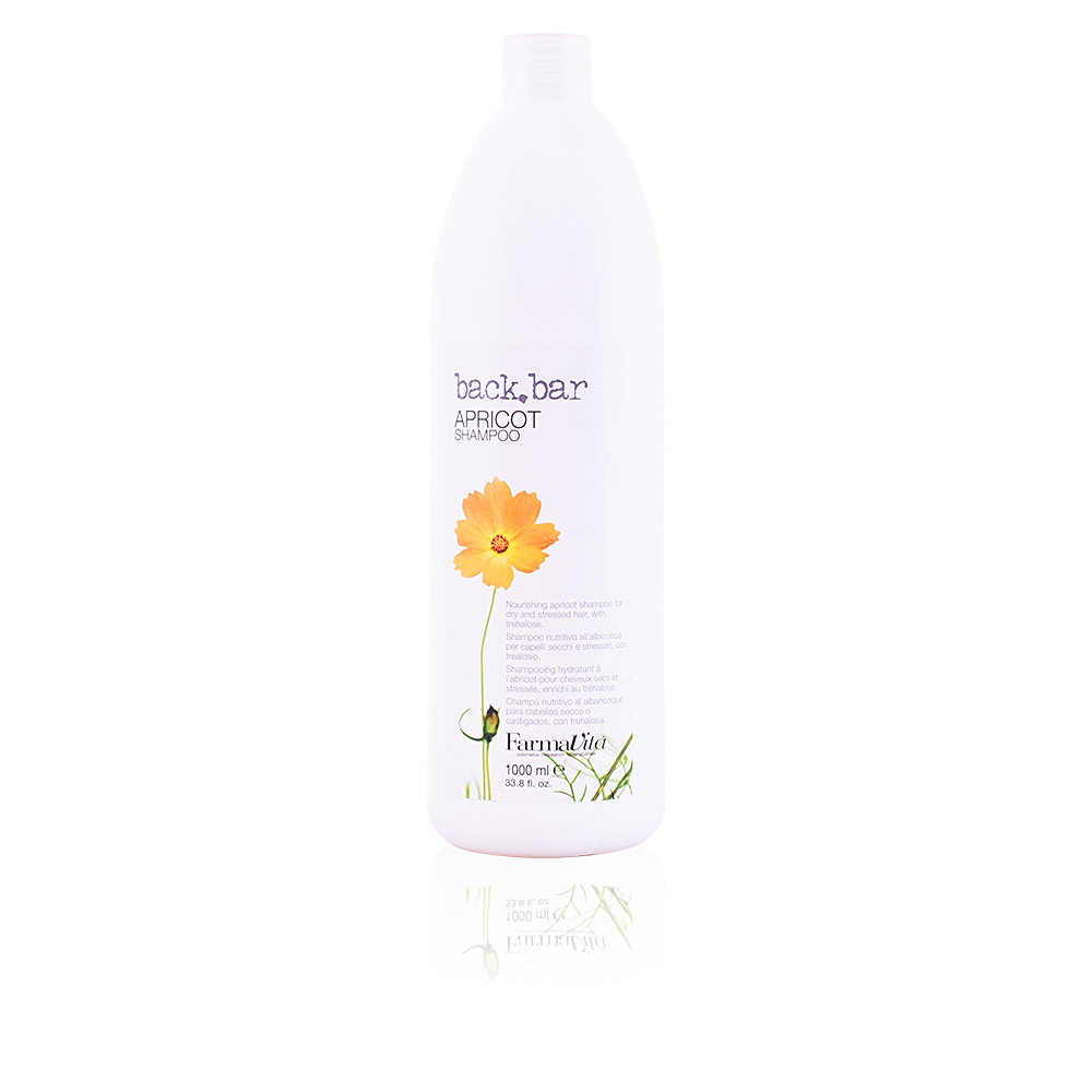 BACK BAR apricot shampoo