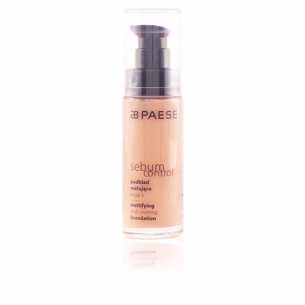 SEBUM CONTROL mattifying and covering foundation