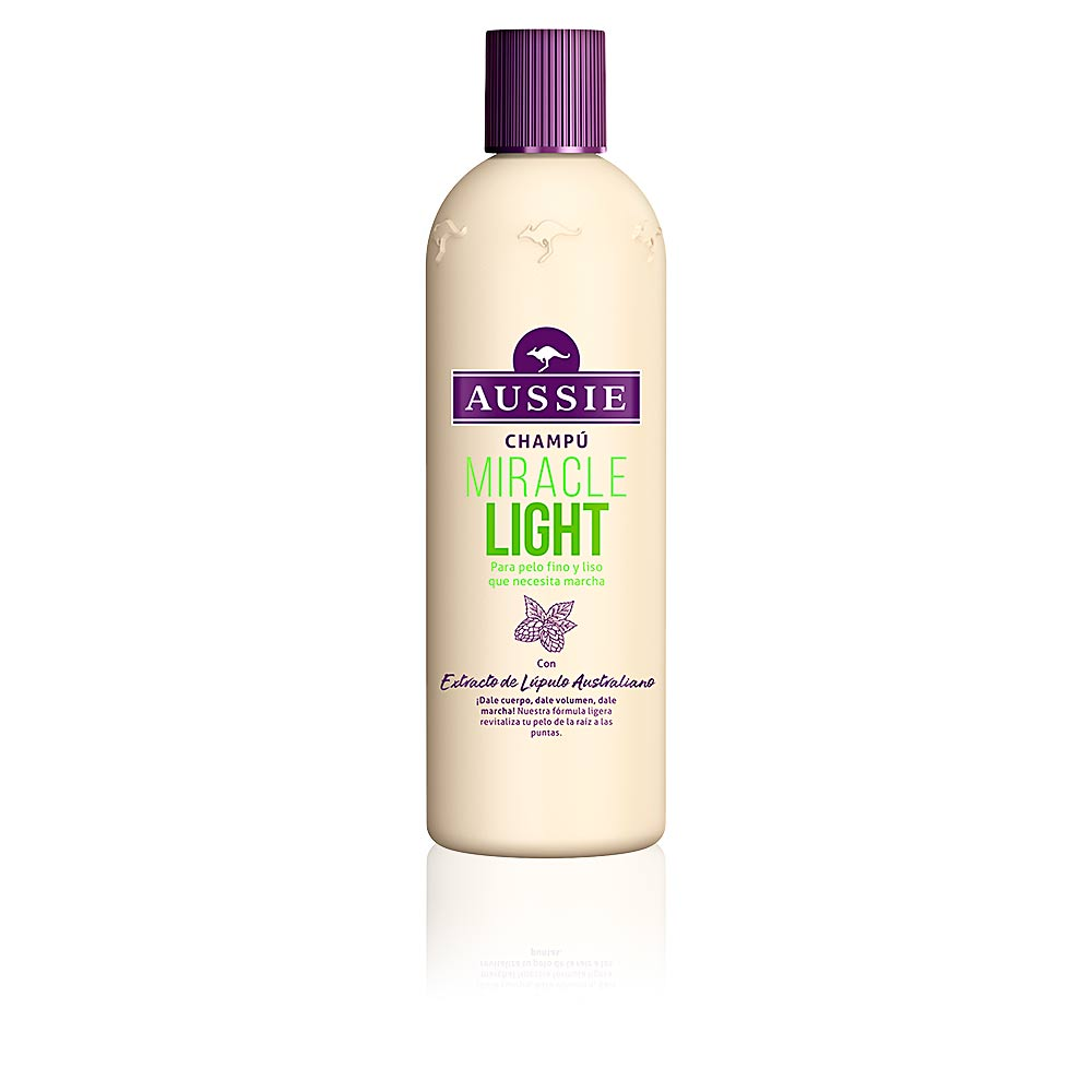 MIRACLE LIGHT champú pelo fino y liso