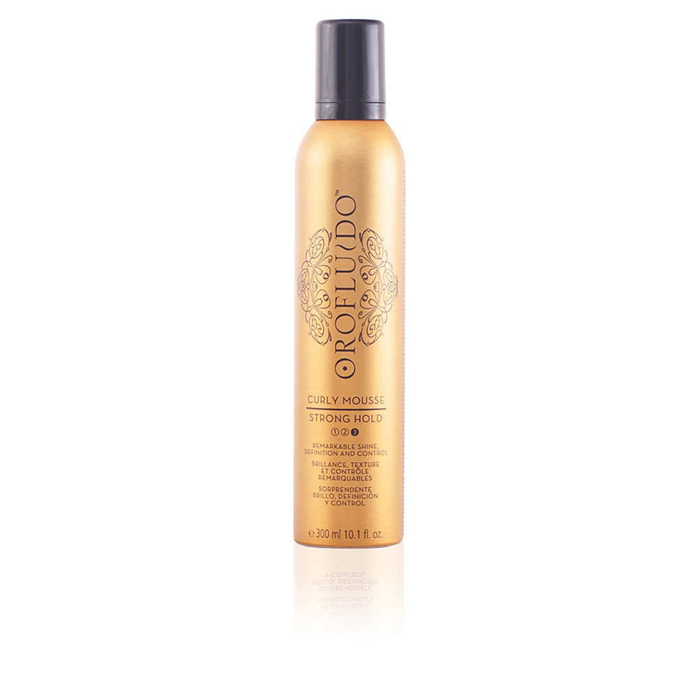 OROFLUIDO curly mousse strong hold
