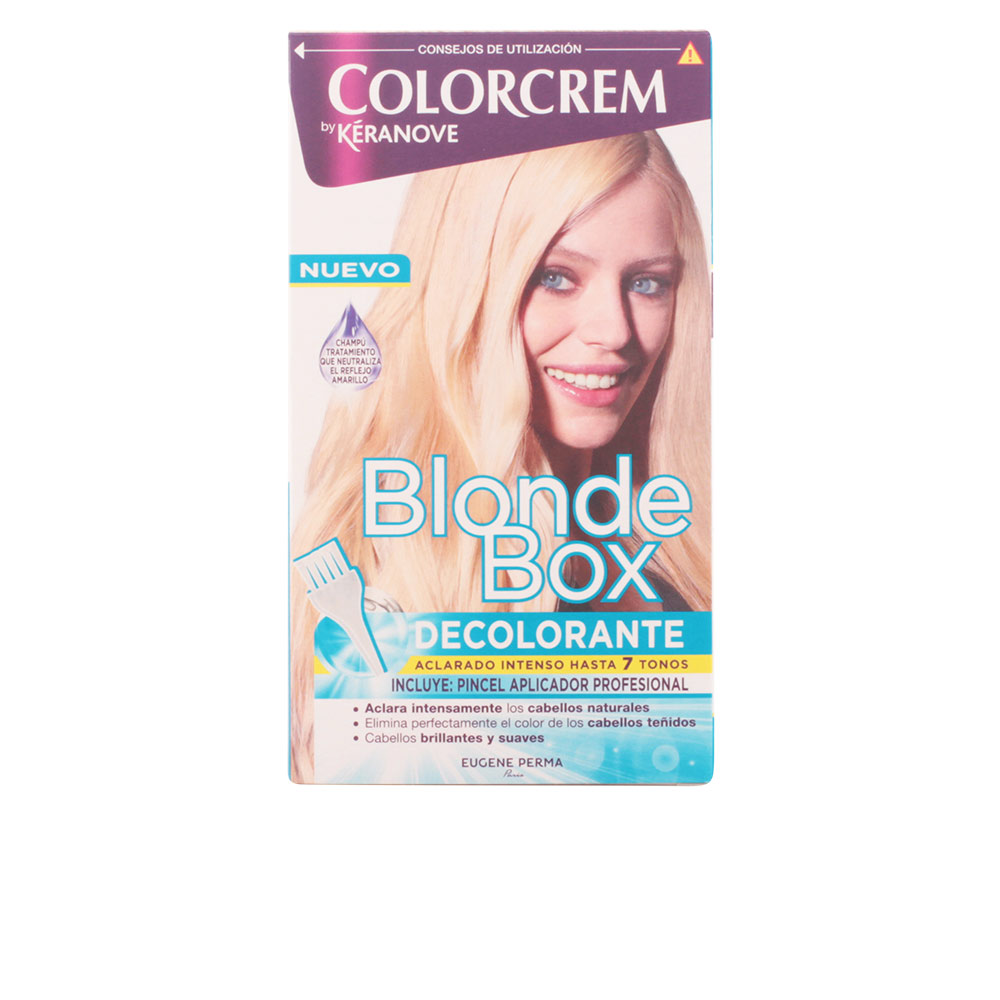 BLONDE BOX DECOLORANTE intenso con pincel profesional