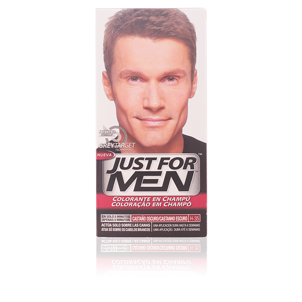 JUST FOR MEN sin amoniaco #castaño oscuro