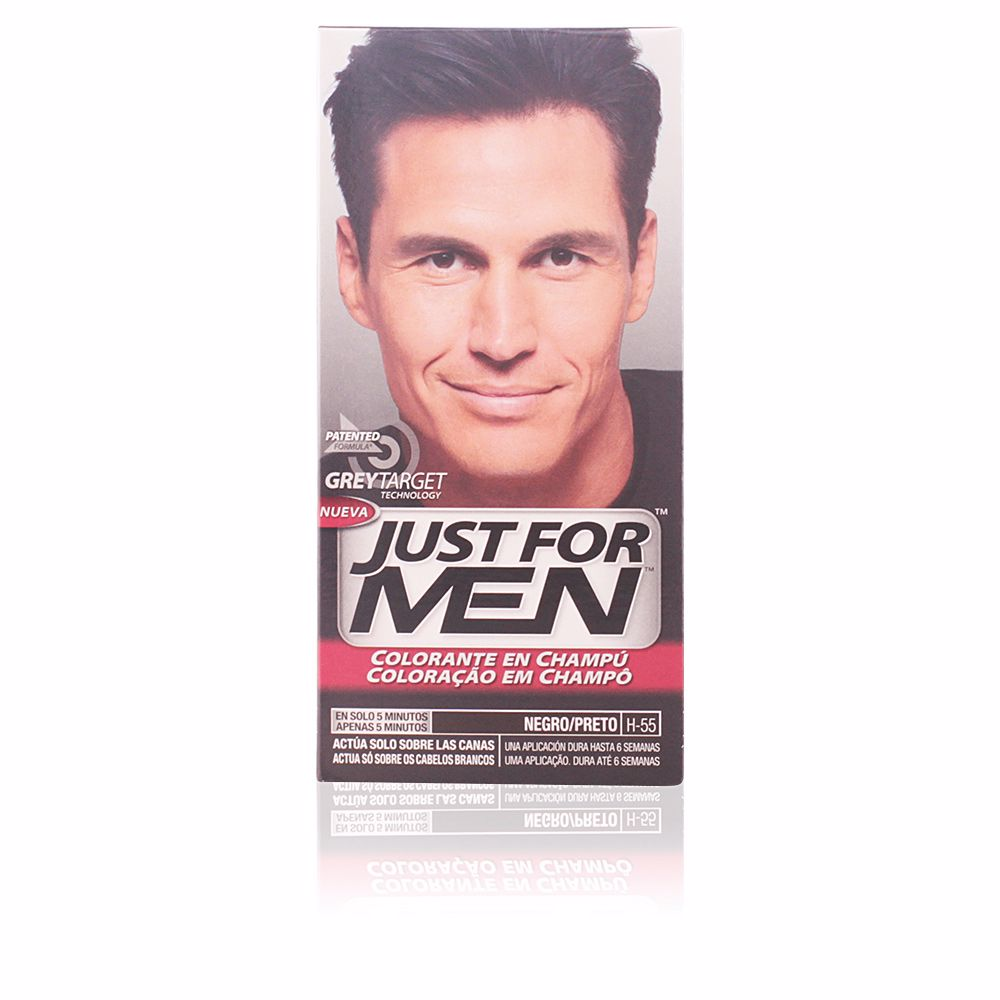 JUST FOR MEN sin amoniaco #negro