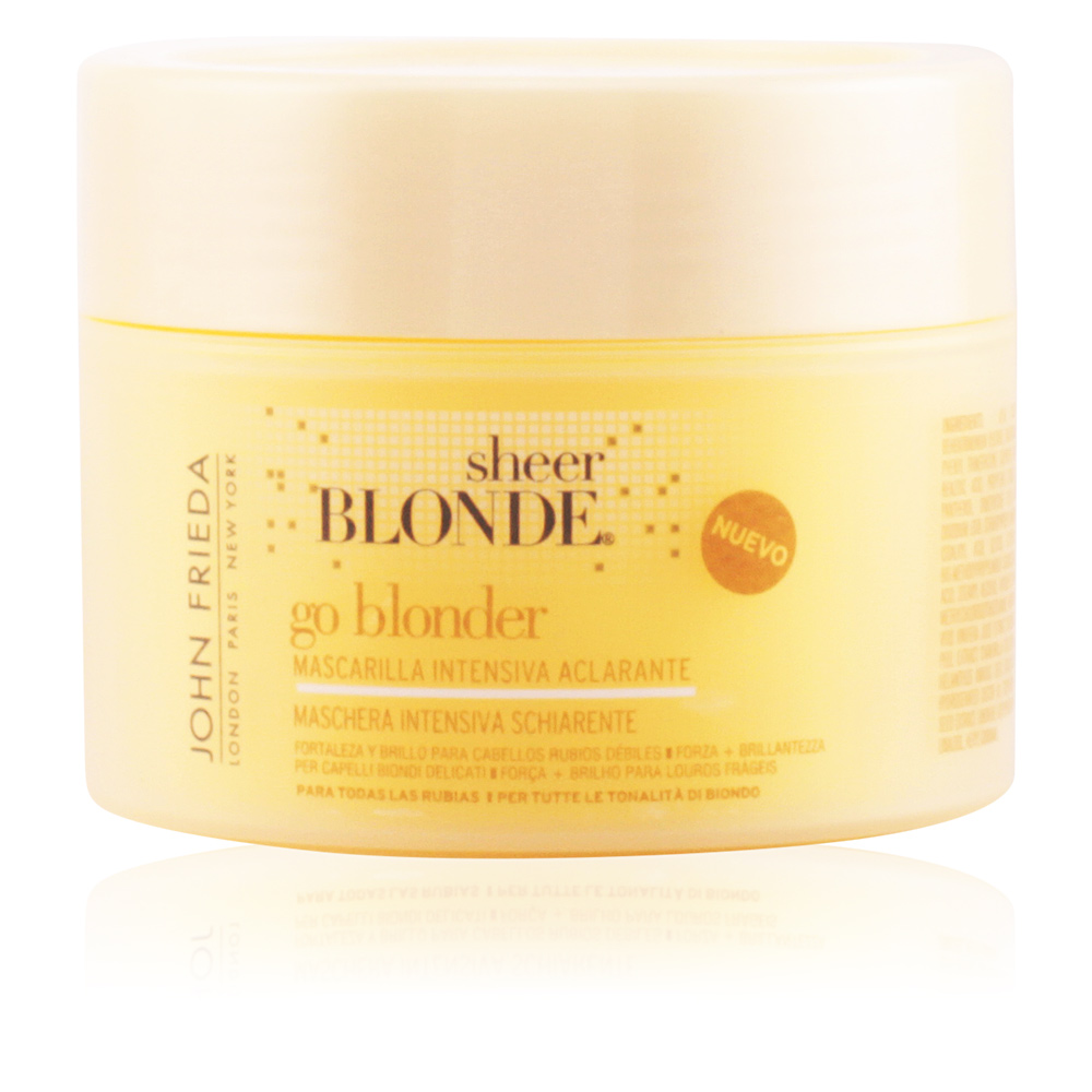 SHEER BLONDE mascarilla aclarante intensiva