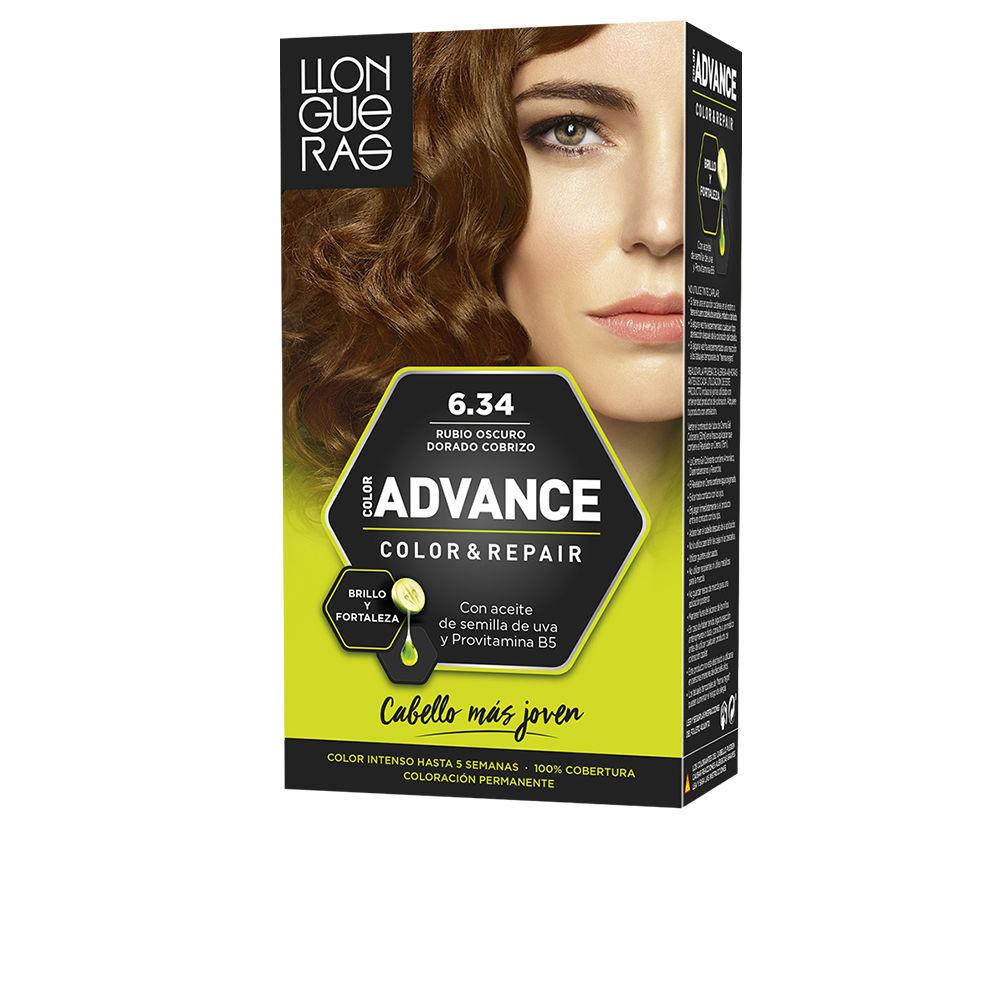 COLOR ADVANCE #6,34-rubio oscuro dorado cobrizo