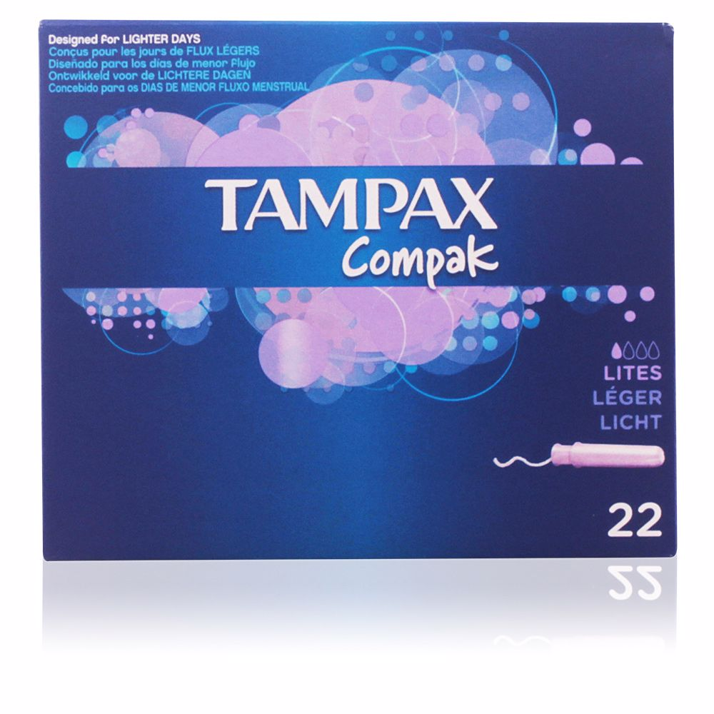 TAMPAX COMPAK tampon lites