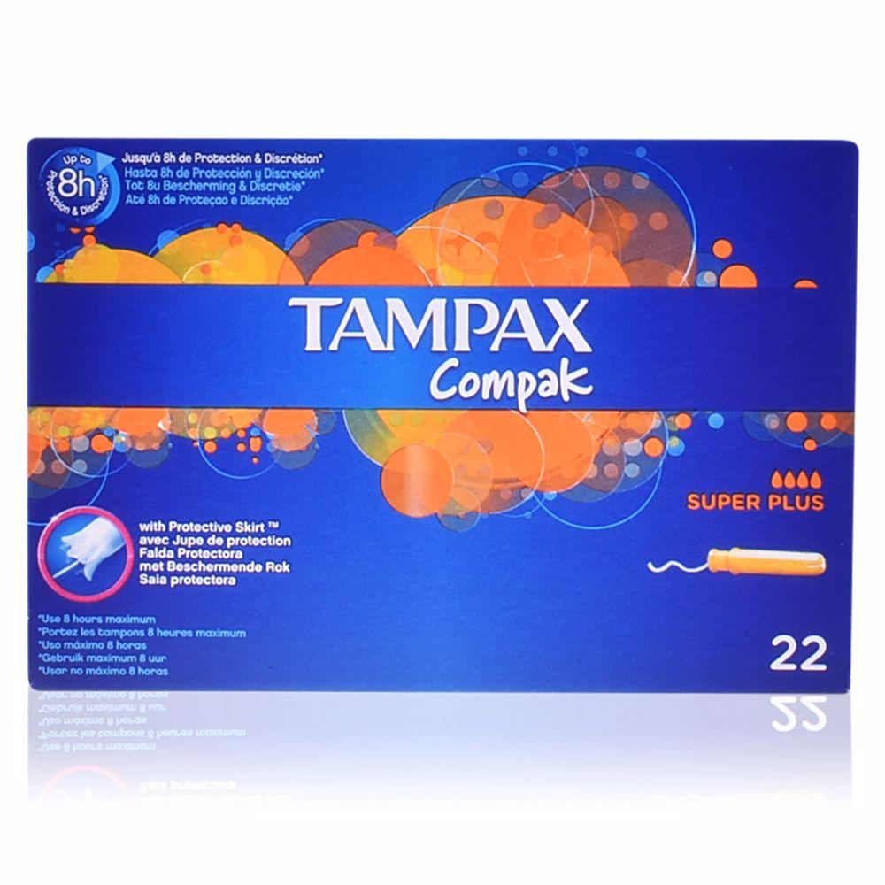 TAMPAX COMPAK tampon super plus