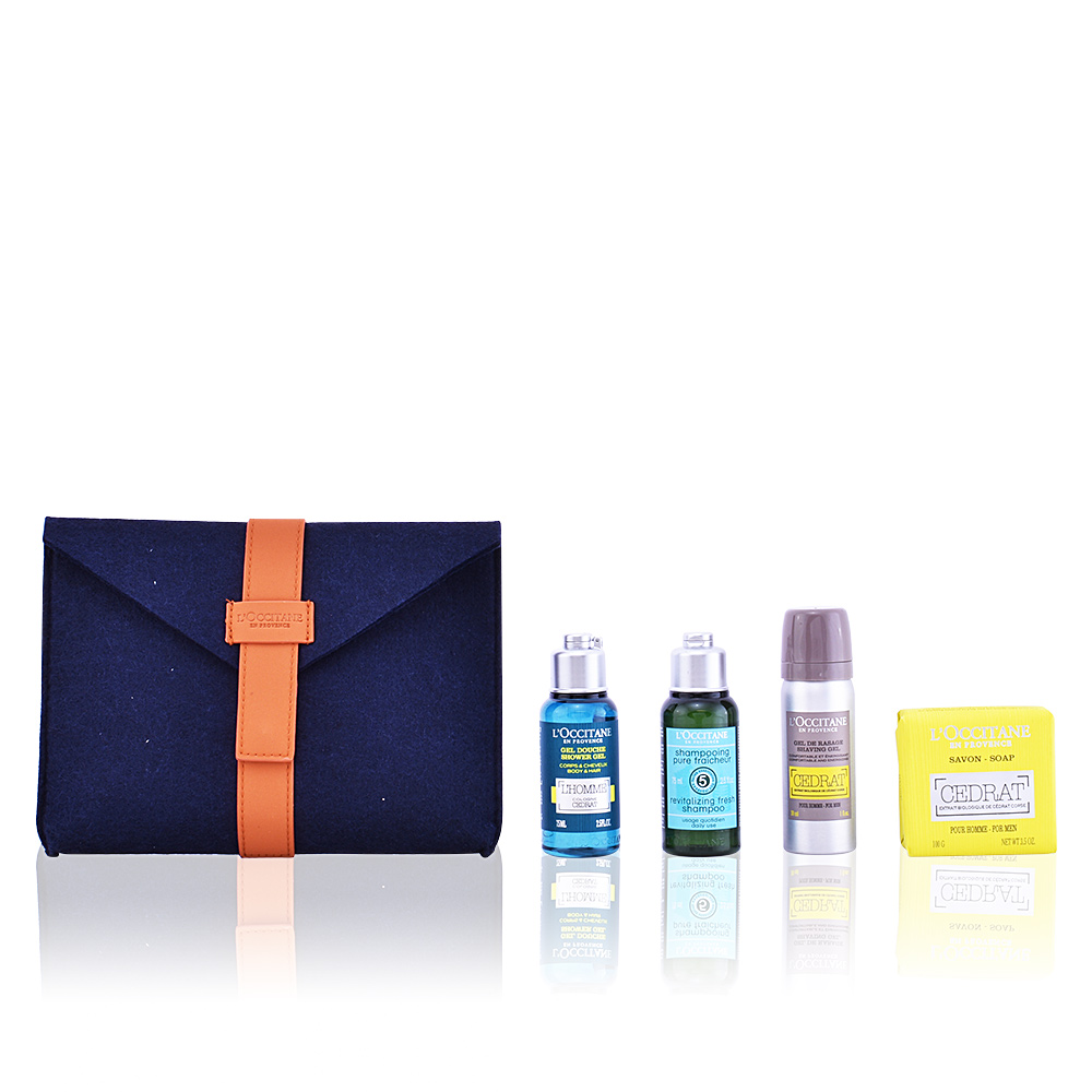 l 39 occitane toilettenartikel eau de cedrat set products perfume 39 s club. Black Bedroom Furniture Sets. Home Design Ideas