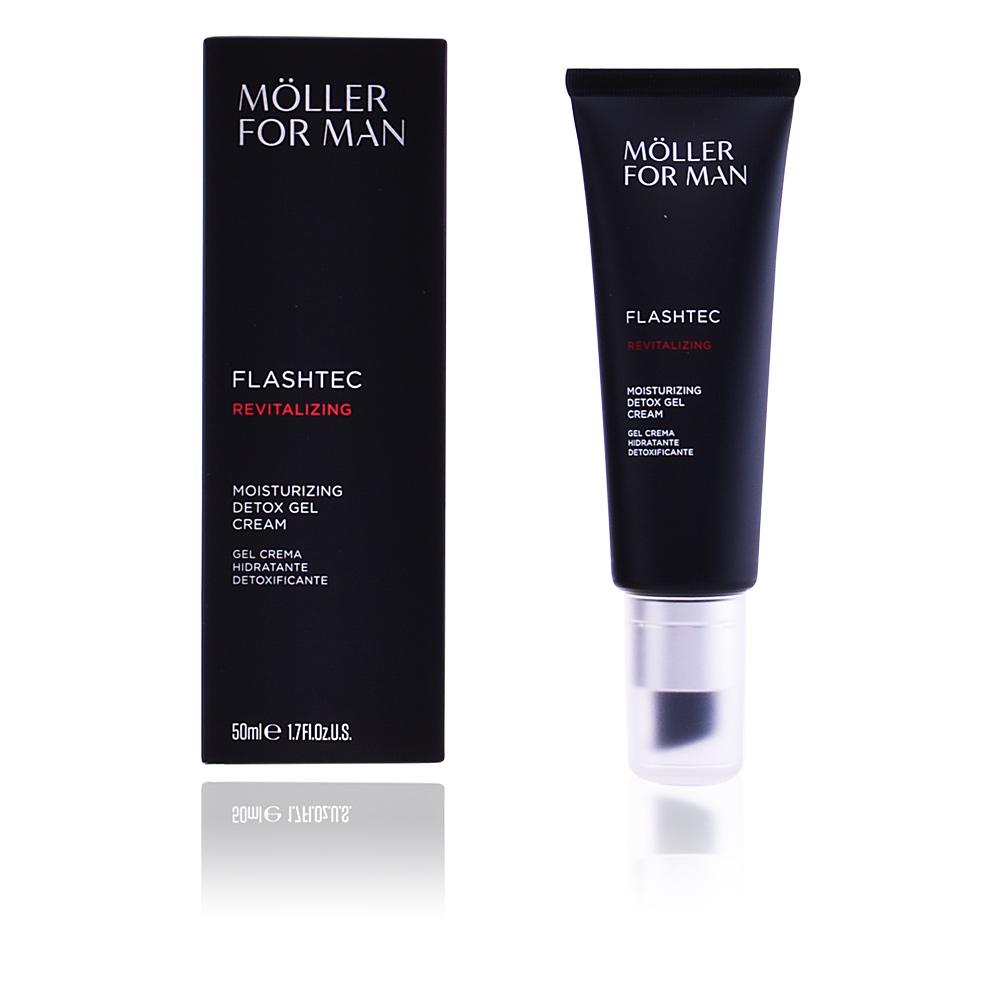POUR HOMME moisturizing detox gel cream