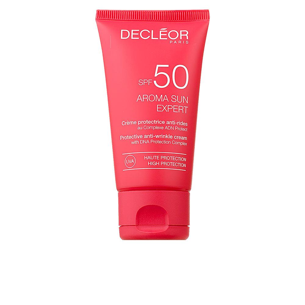 AROMA SUN EXPERT crème protectrice anti-rides SPF50+