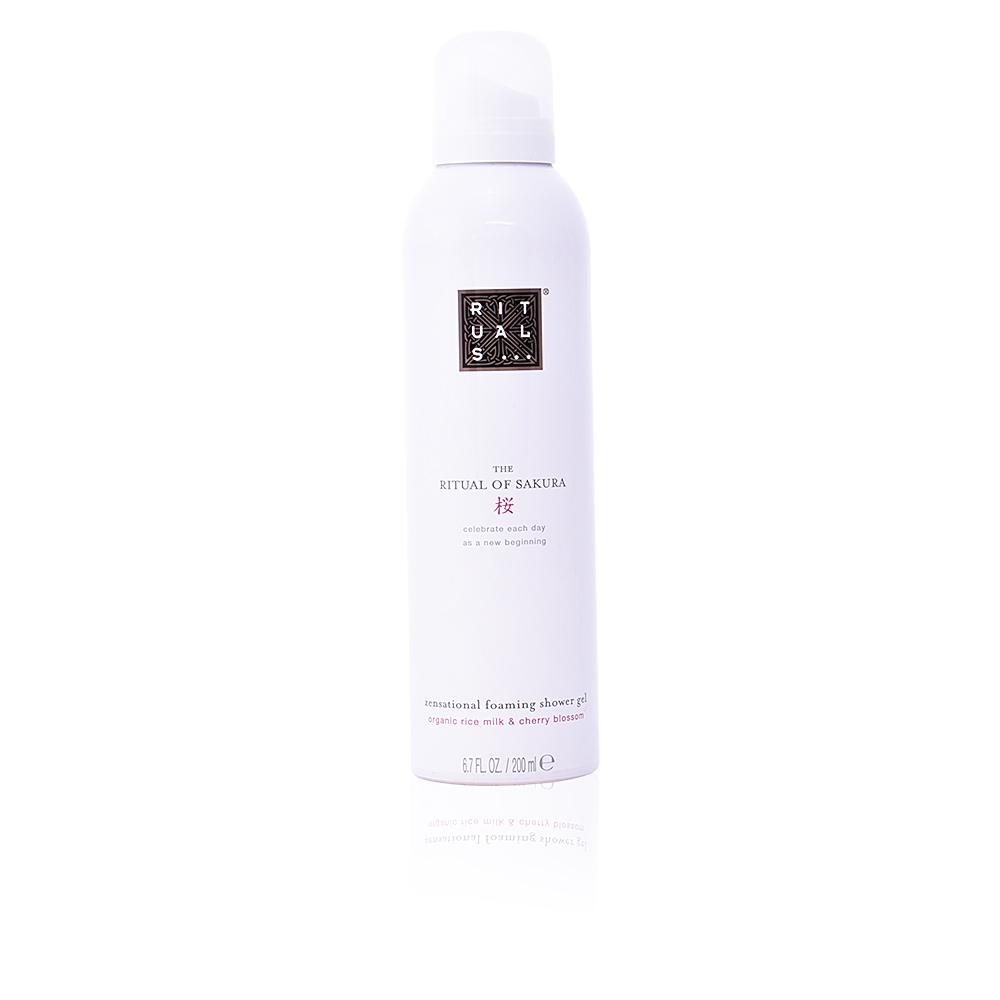 RITUAL OF SAKURA zensational foaming shower gel