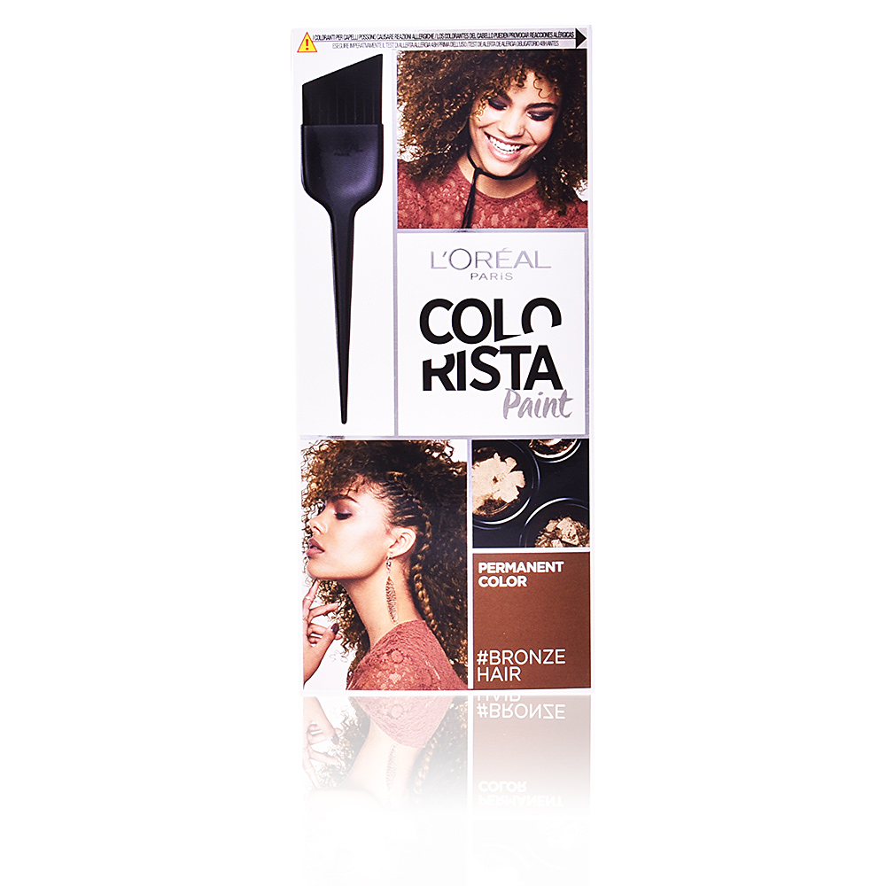 COLORISTA paint permanent color #7 bronze hair