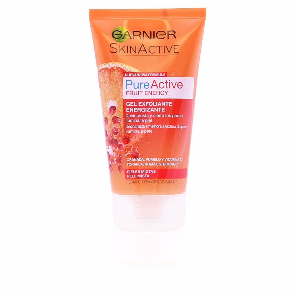PURE ACTIVE gel exfoliante energizante piel mixta