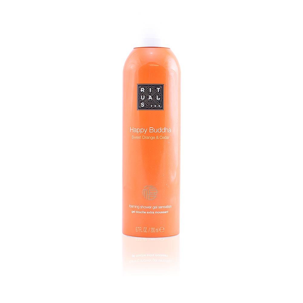 HAPPY BUDDHA foaming shower gel sensation