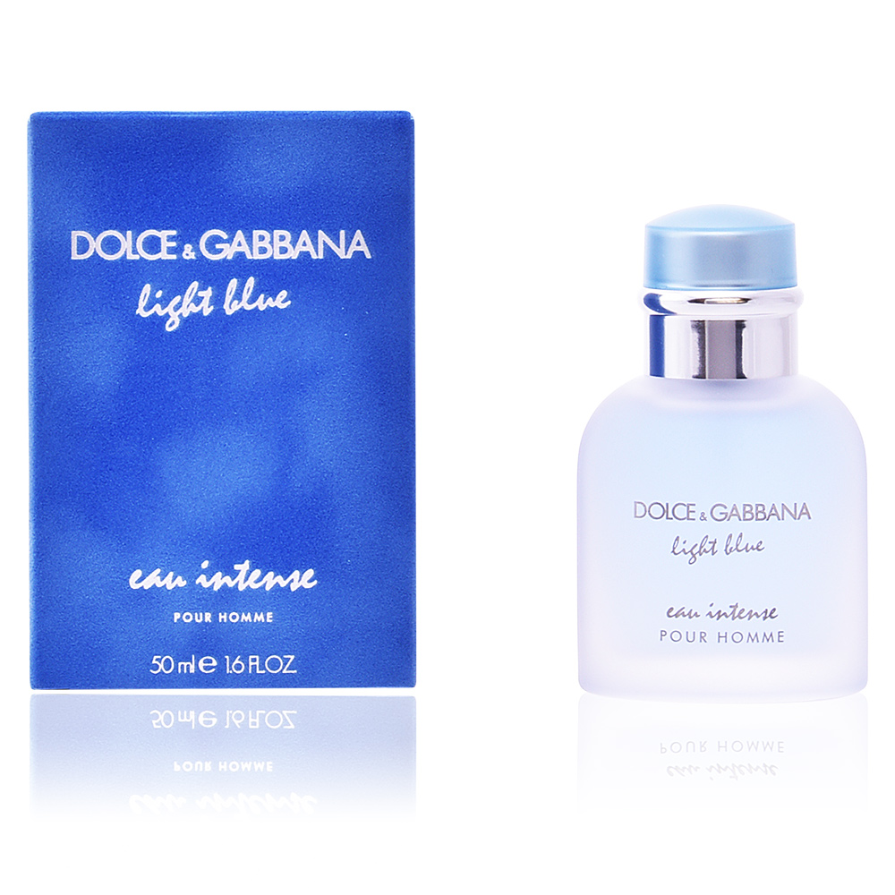 dolce gabbana parfums light blue eau intense pour homme eau de parfum vaporisateur sur perfume. Black Bedroom Furniture Sets. Home Design Ideas