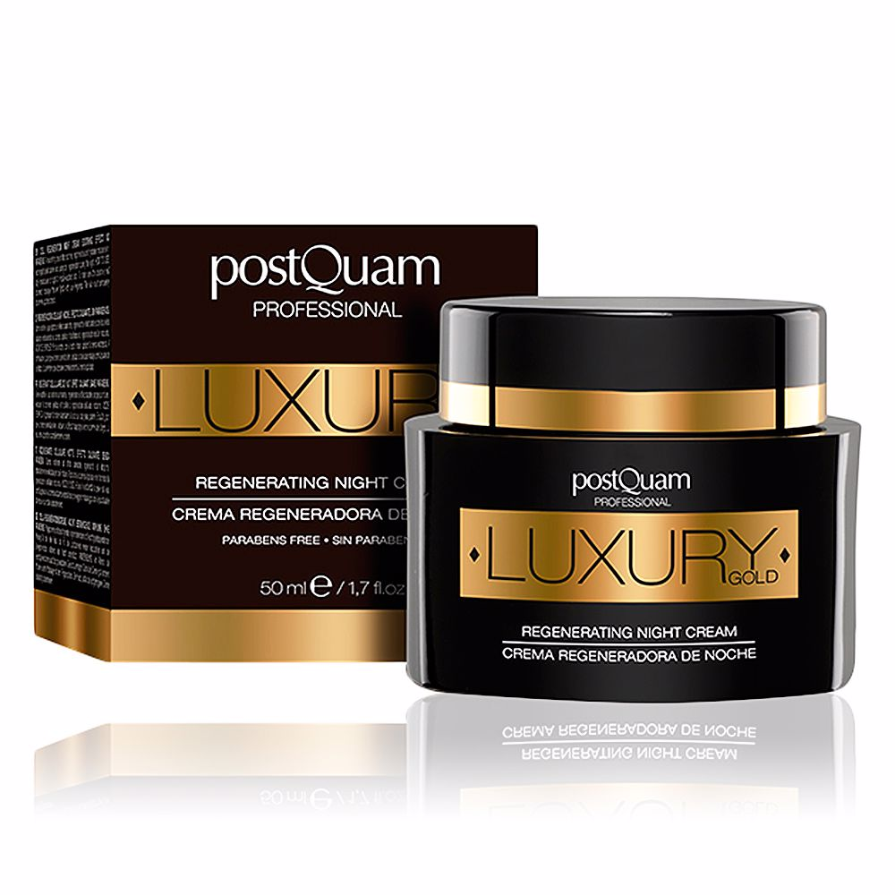 LUXURY GOLD regenerating night cream