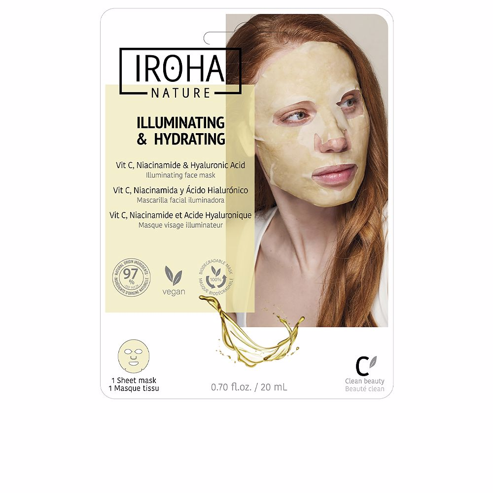 TISSUE MASK brightening vitamin C + HA