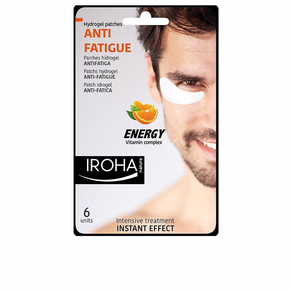 MEN EYE hydrogel patches anti-fatigue vit complex