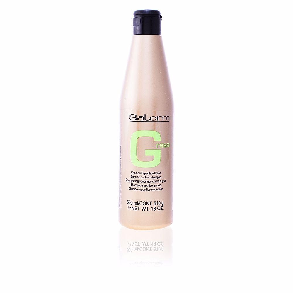 GREASY HAIR specific oily hair shampoo