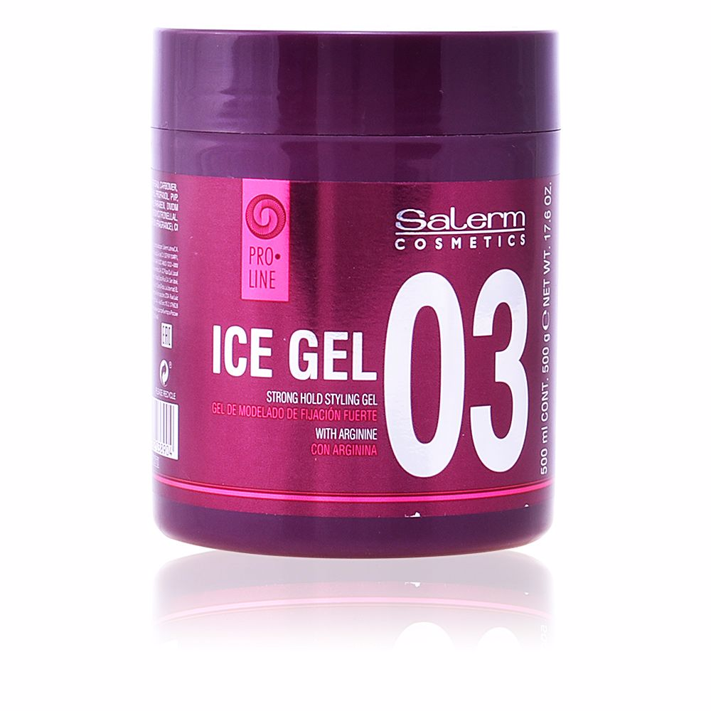 ICE GEL strong hold styling gel