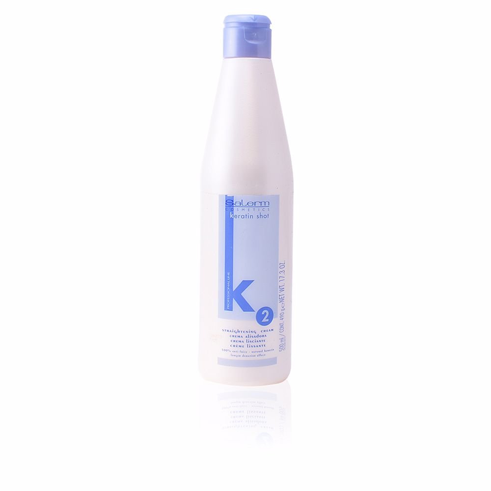KERATIN SHOT straightening cream