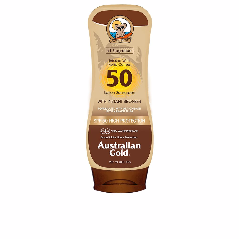 LOTION SUNSCREEN with bronzer SPF50