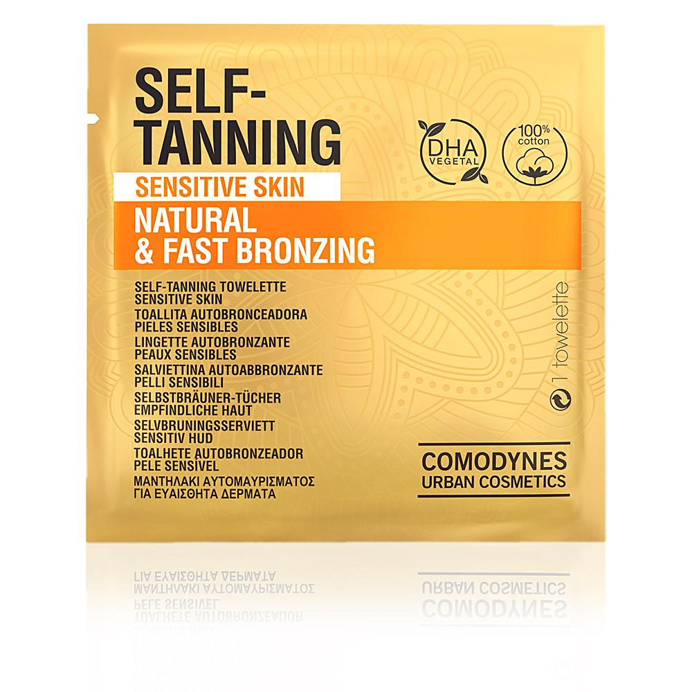 SELF-TANNING natural & fast bronzing sensitive skin