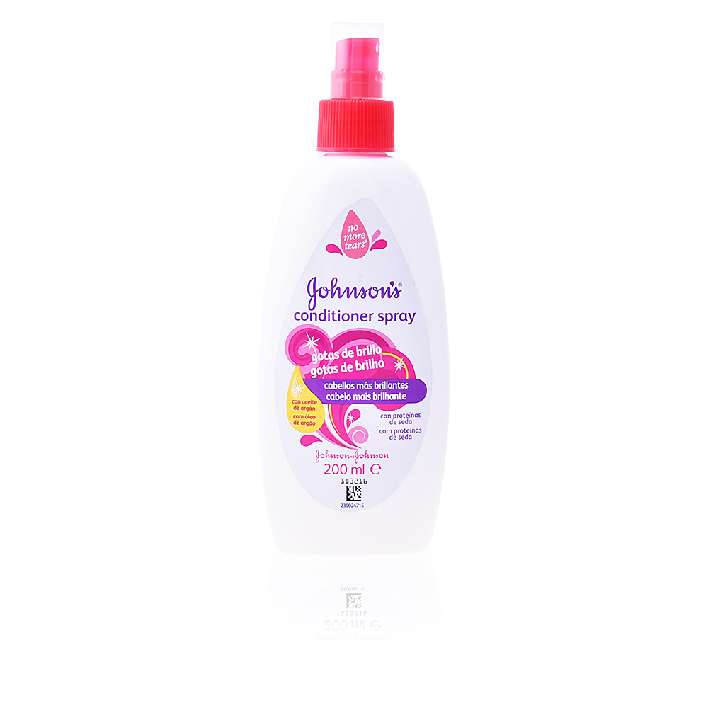 BABY acondicionador gotas de brillo spray