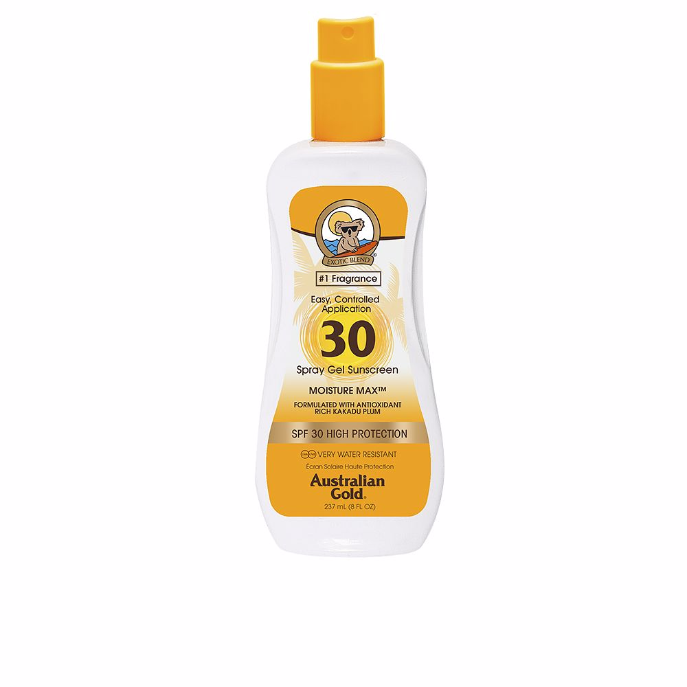 SUNSCREEN SPRAY GEL clear SPF30
