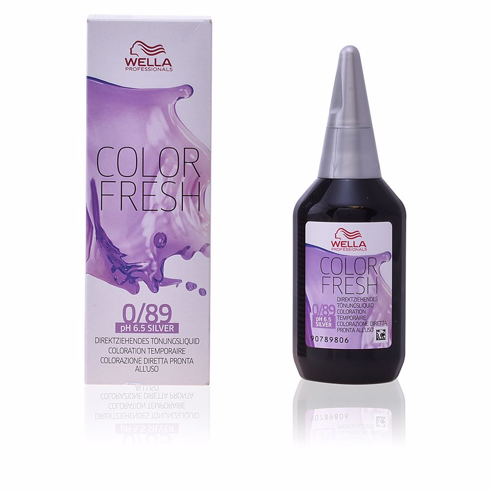 Wella Dye Color Fresh 0 89 Silver Products Perfume S Club
