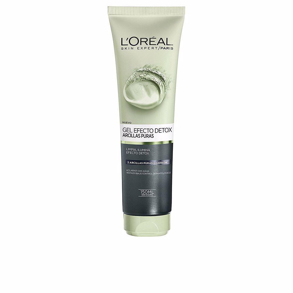 ARCILLAS PURAS gel exfoliante detox negra