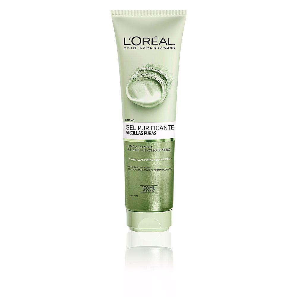 ARCILLAS PURAS gel limpiador purificante verde