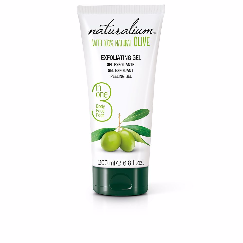 100% NATURAL OLIVE exfoliating gel