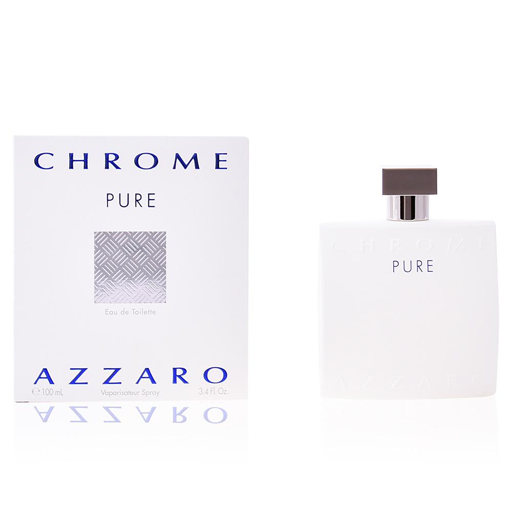 Azzaro Eau De Toilette Chrome Pure Eau De Toilette Vaporisateur Sur