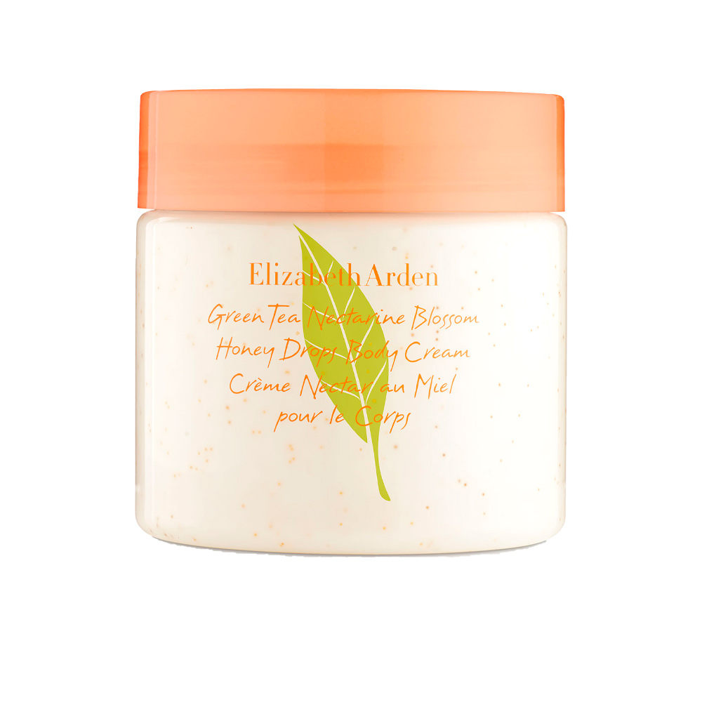GREEN TEA NECTARINE honey drops body cream