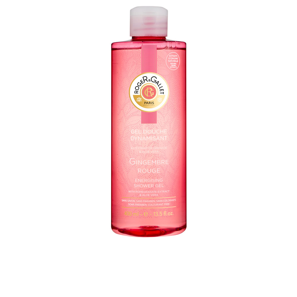 GINGEMBRE ROUGE energising shower gel